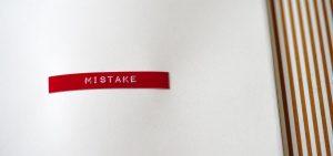 mistake sticker