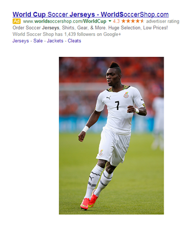 fifa world cup jersey kits pay per click ad 2 ghana