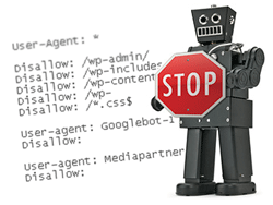 A strong robots.txt file is essential for avoiding duplicate content when content marketing.