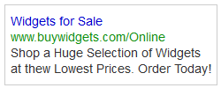 PPC ad campaign using negative keywords