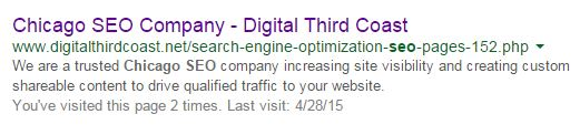 How meta descriptions impact SEO results