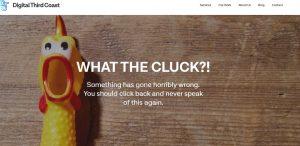 404 error page DTC