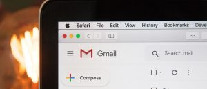 Gmail email open