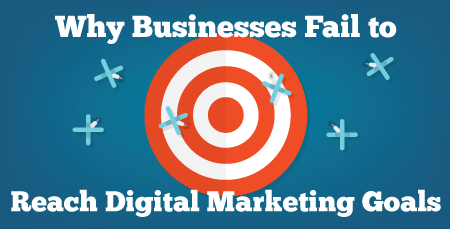 Five Reasons Businesses Fail to Reach Their Digital Marketing Goals