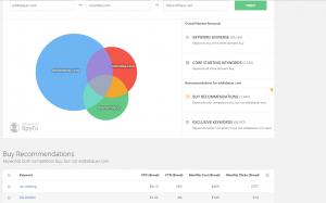 SpyFu - Kombat Screenshot