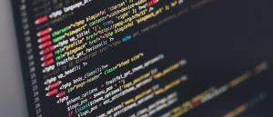 Website coding anchor text