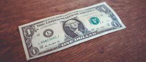 Cost of $1 bill