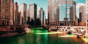Chicago St. Patrick's day green river