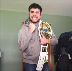 Charley Vail, wrestling belt
