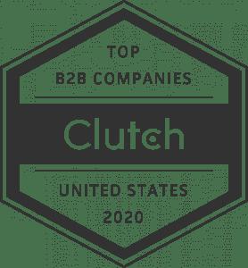 Clutch Best B2B Companies in US logo