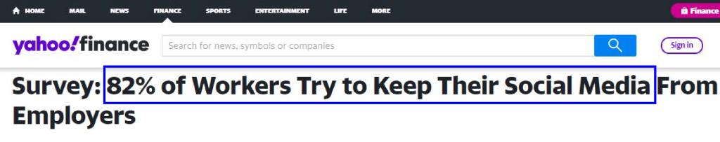 Yahoo finance news headline