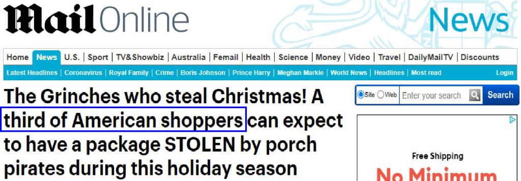 Daily Mail UK news headline