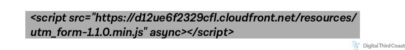 HTML code for referrer information